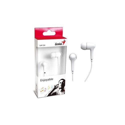 AURICULARES GENIUS GHP-206 IN EAR HEADPHONE WHIT