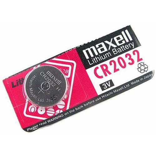 BATERIA 2032 MOTHERBOARD 3V MAXELL