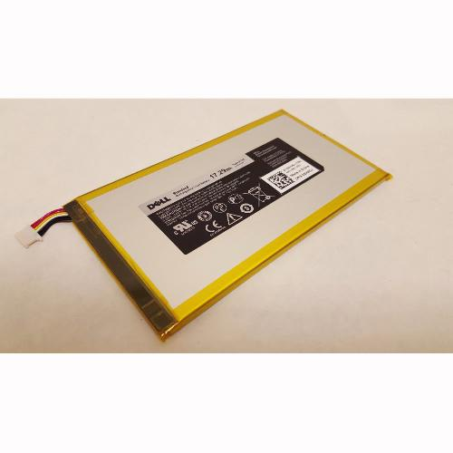 BATTERY DELL TABLET VENUE 7 3740 8 3840 17.29WH