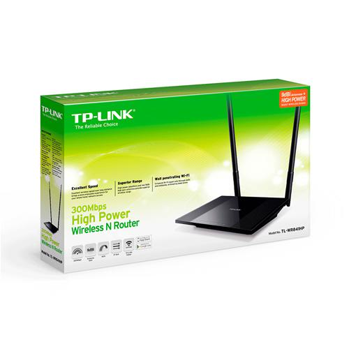 WIFI ROUTER TP-LINK TL-WR841HP 300MBPS 9DBI+
