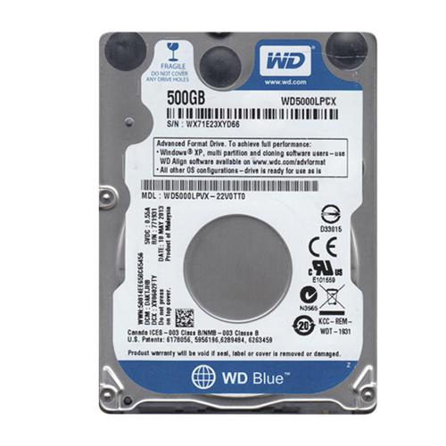 HD S-ATA 500GB WD Blue 6Gb/s 8MB 2.5`