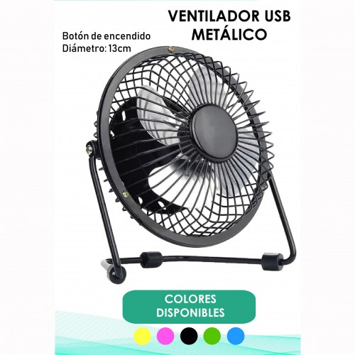 MINI VENTILADOR SEWY USB CON INTERRUPTOR COLORES